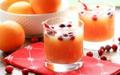 Cranberry Orange Spritz