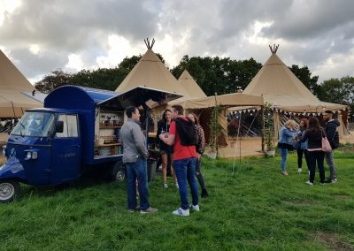 Copa Fizz at The Tipis for a Corporate Event