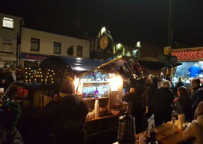 Christmas Lights Outdoor Bar