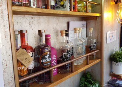 Gino Gin Bar Shelves