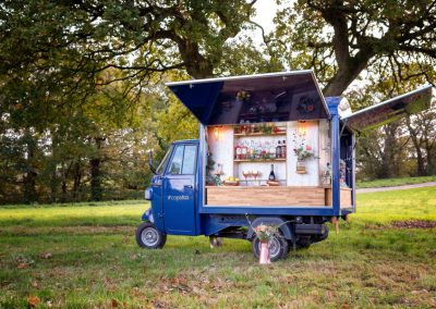 Mobile Bar Van at the Tipis