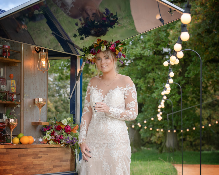 Bride at the Bar